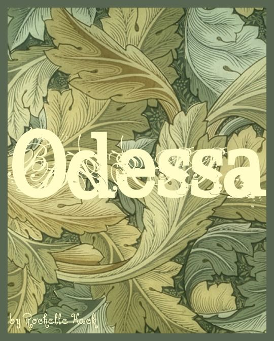 Baby Girl Name: Odessa. Possible Meaning: Odyssey. Origin: Latin; Greek. http://www.pinterest.com/vintagedaydream/baby-names/