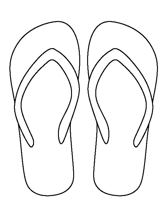 Sizzling image pertaining to flip flop printable