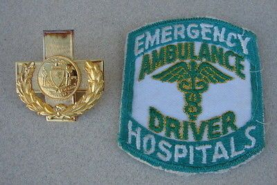 1950s-70s-San-Francisco-California-Ambulance-Driver-Hat-Badge-Patch