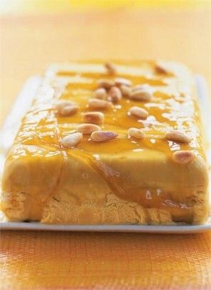 cake roll with honey semifreddo recipe yummly buckwheat cake honey ...