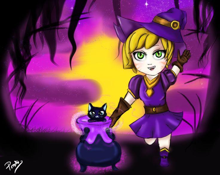 Bewitching Tristana by Ponoki-Chan on DeviantArt