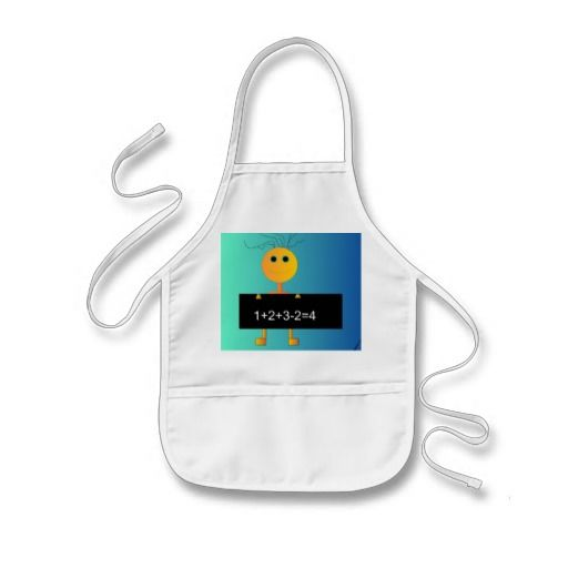 """""""Happy Loves to Count"""" > Cute Childrens Apron"""