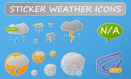 30 set di #icone dedicate al #meteo