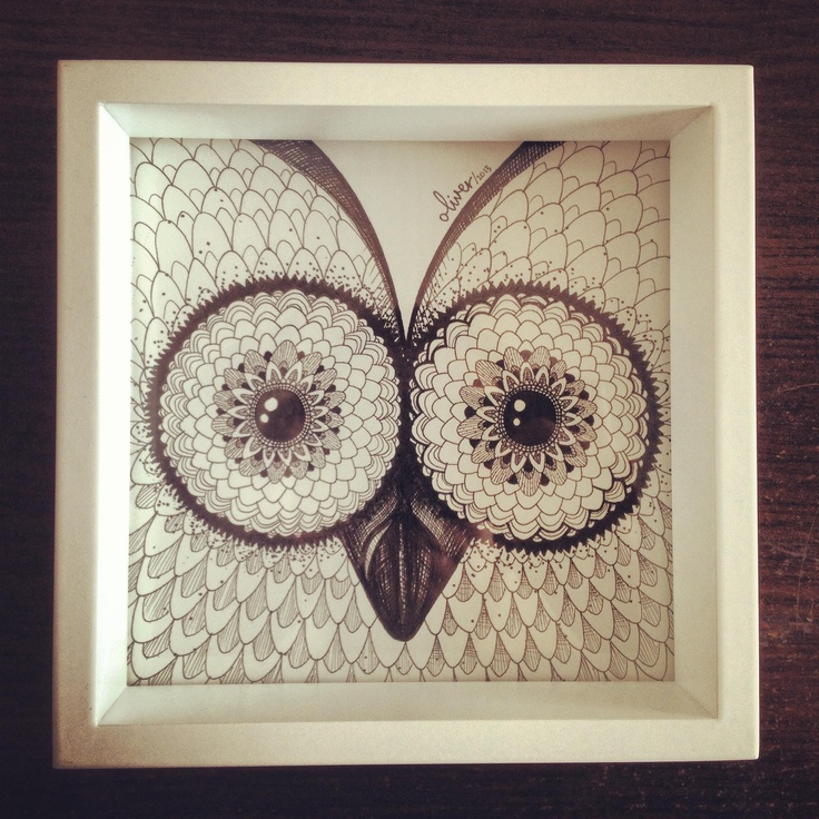 The Other Owl - by Oliver Whyte #WhyteBox