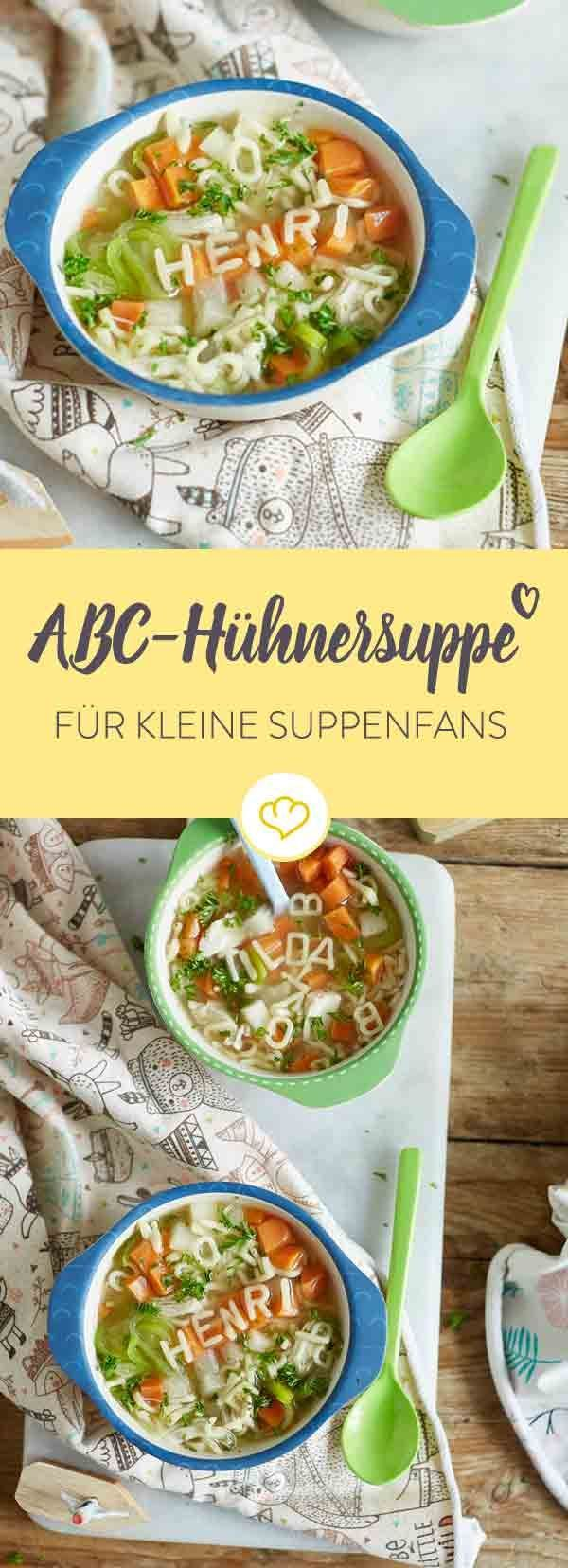 schnelle h hnersuppe f r kinder rezept european recipe. Black Bedroom Furniture Sets. Home Design Ideas