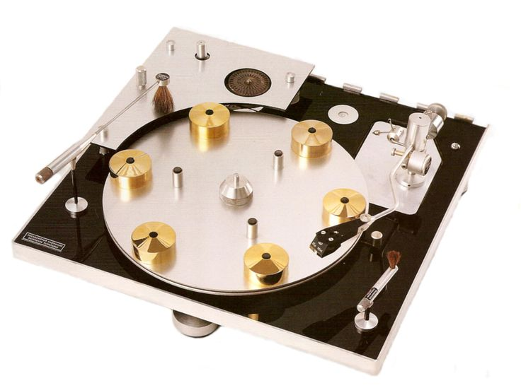 Hydraulic reference 1964 transcriptors high end audio for Table tournante