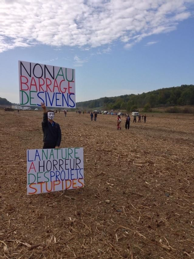Barrage de Sivens: un rapport d'experts très critique