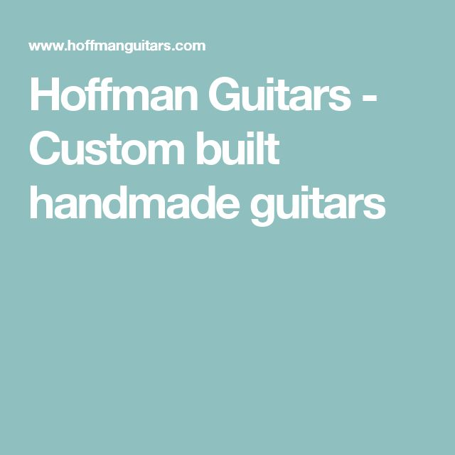 The 64 best Guitar Building images on Pinterest | Guitar building ...