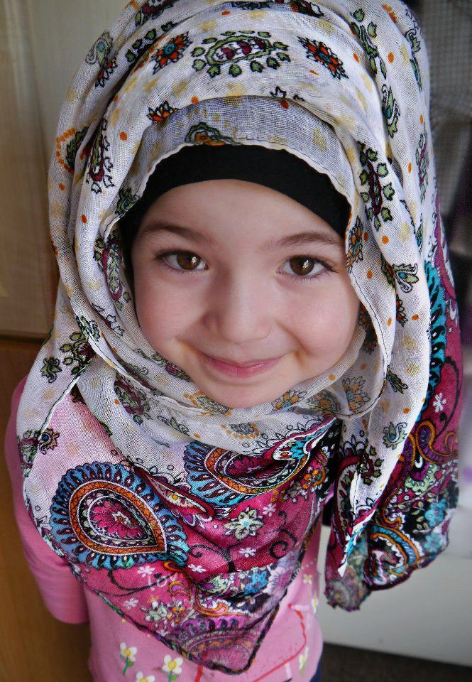 hijab - kids - cute