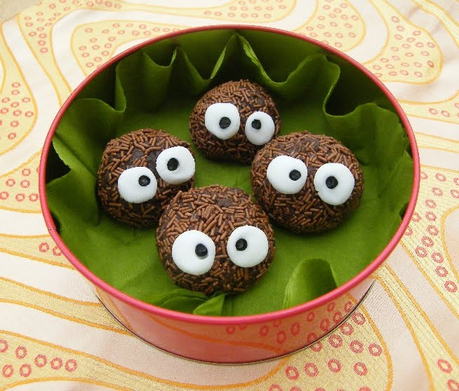Truffles with personality. Soot Sprite Truffles. Because a plain truffle would just be too boring.
