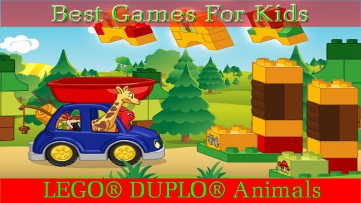 [Game Kids] LEGO® DUPLO® Forest   Animals | NLHGAMECHANNEL