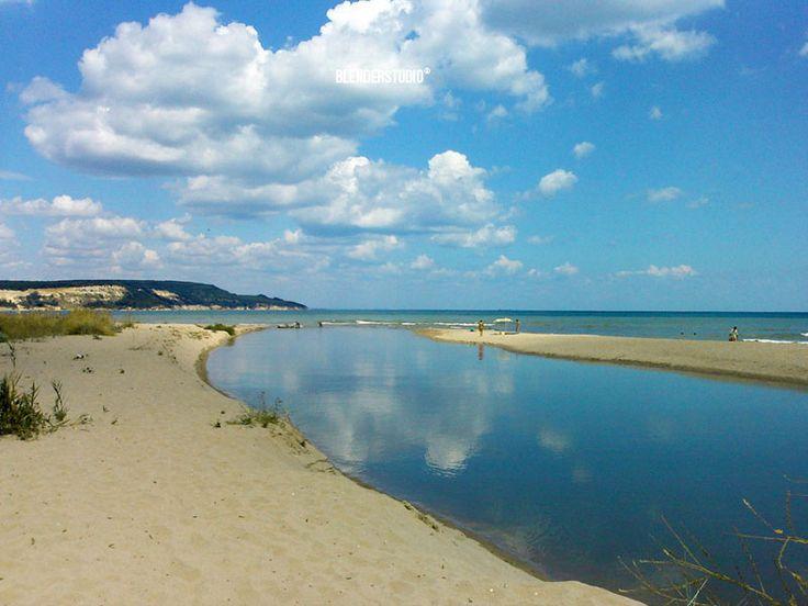 Kamchiya's delta, near Varna, Bulgaria