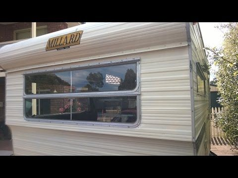This is the process I take to re-seal the Millard caravan kitchen window…