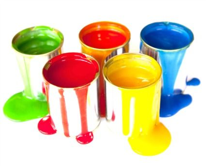 Home made paints for children.  Only takes 10 minutes and has a beautiful smooth texture.  And it's economical.
