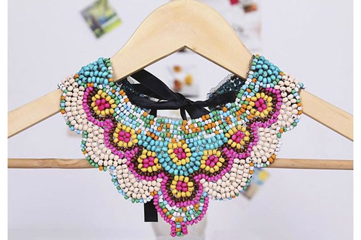 Tigerlillyquinn | Colourful beaded necklace