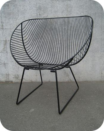 INDUSTRIAL FURNITURE | OUTDOOR FURNITURE | METAL WIRE CHAIRS