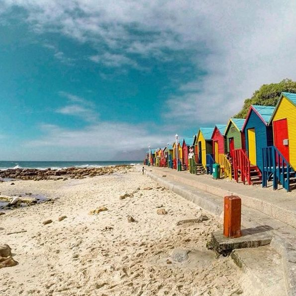 "Check out more sweet pics like these, who made them, and the stories behind them: instagram.com/capetownmag. Are you on Instagram? Tag one of your great pics with#CapeTownMag and we might just feature your image. The picture of the week for the winning #capetownmag feature!   ""Casual Cape Town scenes coming at you from St. James's beach. On point and as colourful as ever""  featuring @craigrh_10 ."