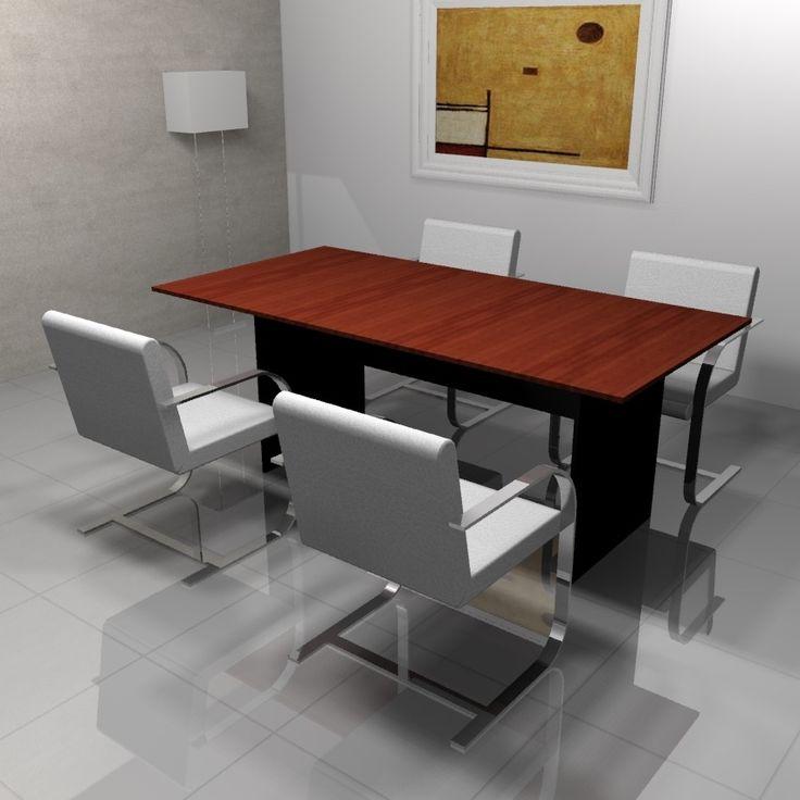 Mesa de reunión MDF 18 MM.