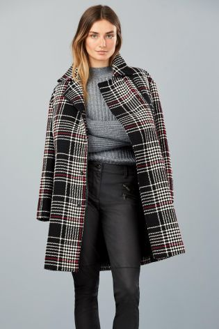 Buy Check Coat from the Next UK online shop
