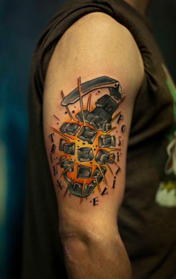 Awesome tattoo by Sass at CraftzBerlin Tattoohaus & Gallery
