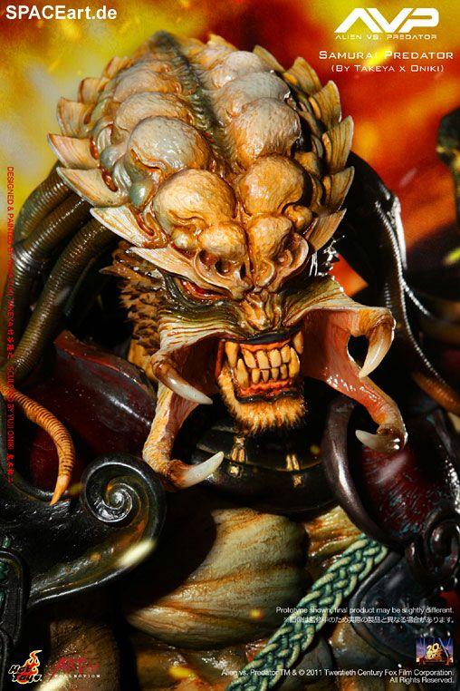 Alien vs. Predator: Samurai Predator - Deluxe Figur, Fertig-Modell ... http://spaceart.de/produkte/avp002.php
