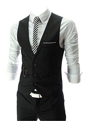 QinYing V-neck Sleeveless Slim Fit Jacket Men Business Suit Vests Black M QinYing http://www.amazon.com/dp/B00LN60EAG/ref=cm_sw_r_pi_dp_UFY.wb0N1KB7M