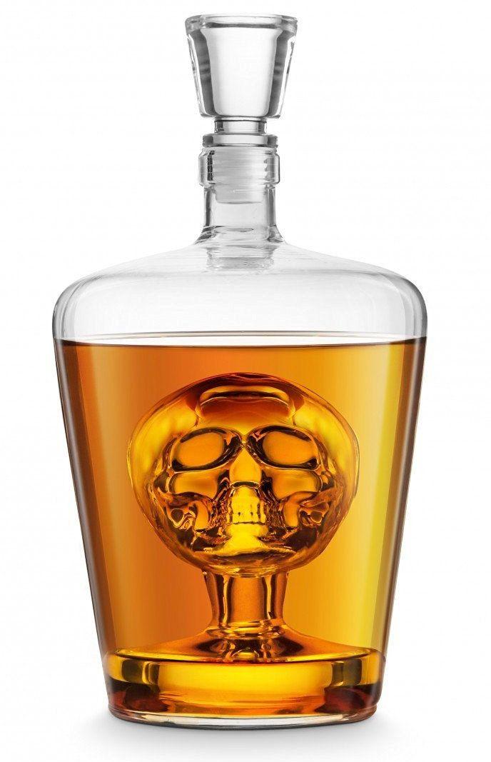 Carafe à Liqueurs Tête de Mort #skull #skulls #whisky #vodka #tequila #mort