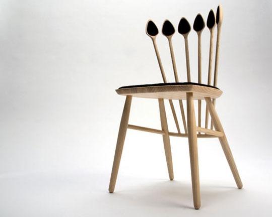 Wooden Spoon Chair  by Jonas Lyndby Jensen