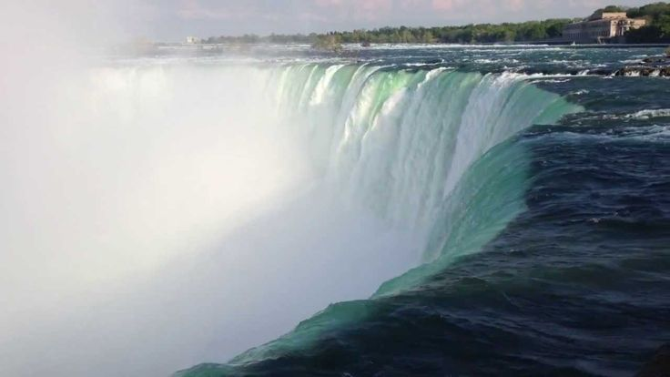This is a Glimpse of the Niagara Falls.  Thanks.