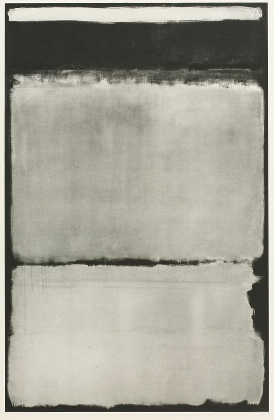 Mark Rothko UNTITLED  100 x 95  cm  STAMPA TELA QUADRI CANVAS