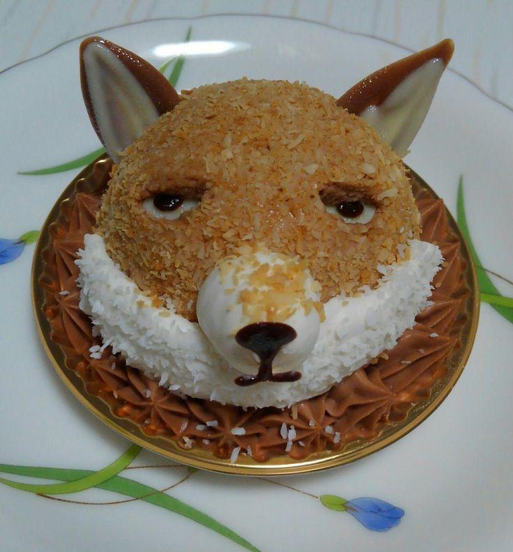 """ハイジ@P-GB&はちやどアフターさんのツイート: """"チベットスナギツネのケーキ…すごい…どこから撮ってもこっちを見てる… https://t.co/EC6SZBgrUJ"""""""
