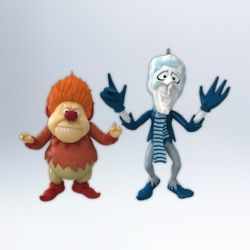 2012 HEAT MISER AND SNOW MISER HALLMARK ORNAMENTS