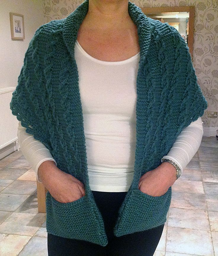 Knitting Pattern Scarf With Sleeves : 1000+ images about Knitting and crochet on Pinterest Free pattern, Knit pat...