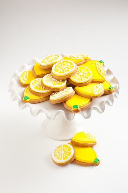 Lemon cookies--the Pelican Girls keep hoping someone will throw a Juicestand Party!