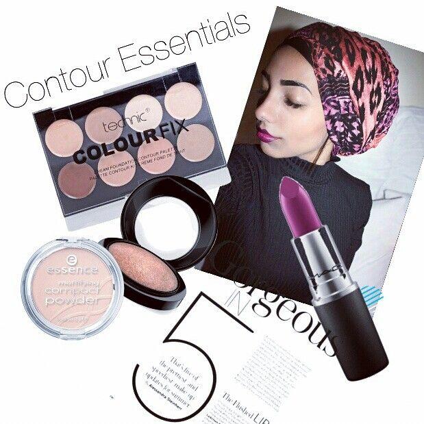 Makeup contour girl diy