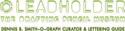 Leadholder: The Drafting Pencil Museum Logo
