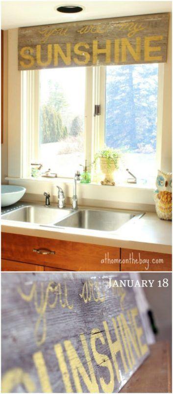 25 Best Ideas About Wood Window Valances On Pinterest