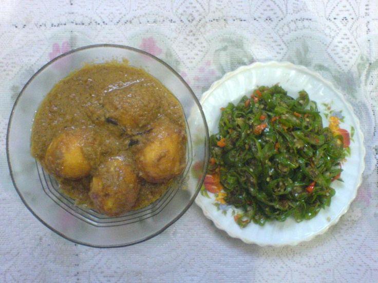 Info Resep Tumis Lombok Hijau dan Telur Bumbu Kacang