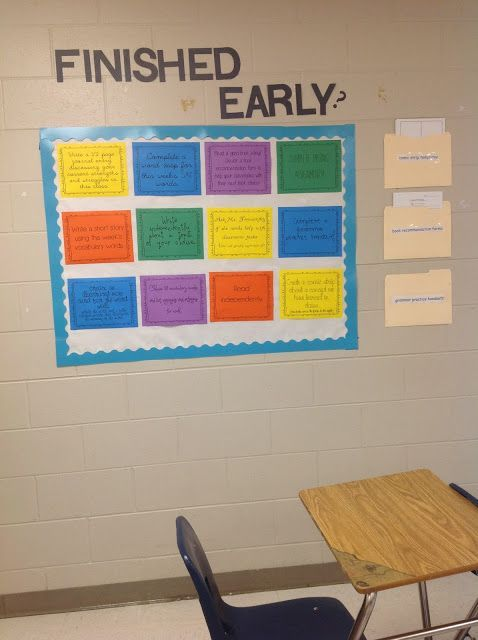 high school ELA version of choice board