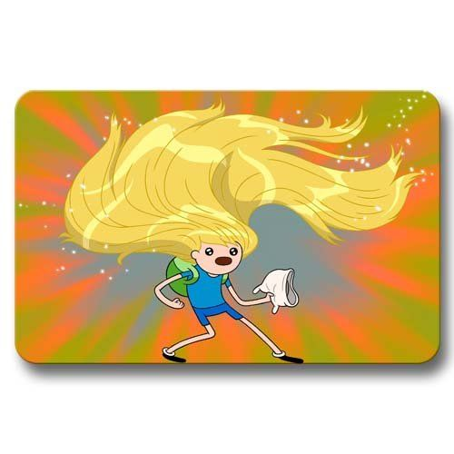 Awesome Look Adventure Time with Finn & Jake Doormats House Garden Mat Rug Non Skid 16x24Inch / 40x60cm @ niftywarehouse.com #NiftyWarehouse #AdventureTime #TVShow #Cartoon #Show #CartoonNetwork
