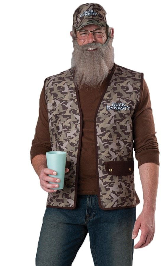 duck dynasty uncle si - Jase Robertson Halloween Costume