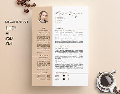 8 best Design images on Pinterest Cover letter template, Cv - resume tem
