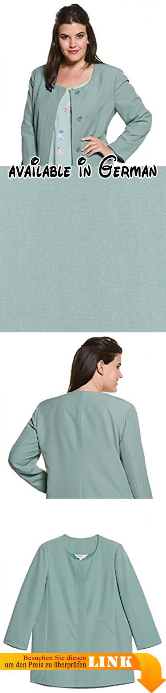B06XC5QSH6 : Studio Untold Damen große Größen bis 54 | Sommer-Mantel | Longjacke in Mint | Rundhalsausschnitt 2 Taschen & Langarm | Komplettfutter & Knopfleiste | Regular Fit | graumint 48 709574 43-48. <p>Ein Sommer Must-Have: dieser Sommermantel in einer freundlichen hellen Farbe. </p><p>Top zu kombinieren mit einer lässigen Jeans und einem schlichten Oberteil. </p><p>Ob für Outdoor oder Indoor-Events - diese Jacke wertet jedes Outfit noch auf und verdeckt auch noch