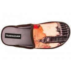 TSAKALIAN 01T-122 - Γυναικείες Παντόφλες Χειμωνιάτικες