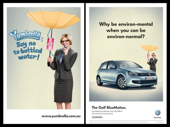 Volkswagen Golf Blue Motion: Yumbrella - DDB