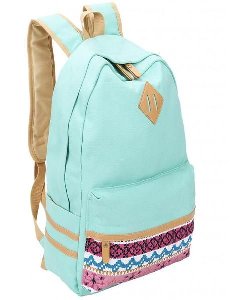 25  Best Ideas about Cute Canvas Backpack on Pinterest | Cute girl ...