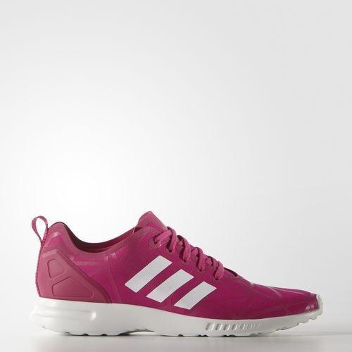 Billige Adidas Damen Originals Trainers ZX FLUX ADV SMOOTH Rosa/Weiß (S79502) Schuhe Bestellen