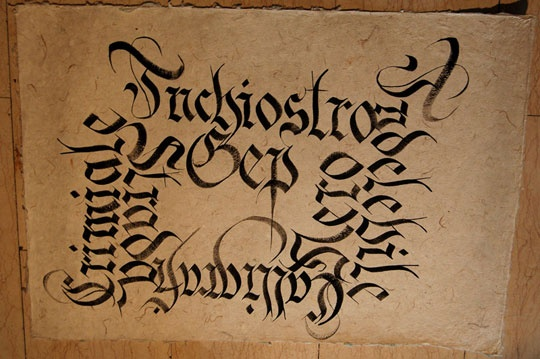 96 Best Images About Calligraphy Schoonschrift Letters On
