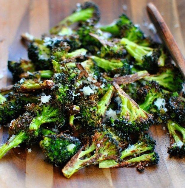 Roasted Broccoli - Bloggers Club