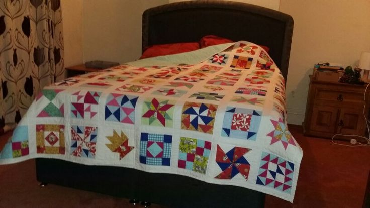 Art of quilting finished quilt